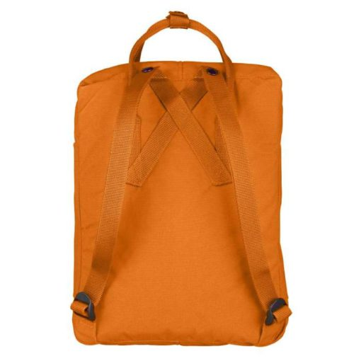 Fjallraven Kanken Backpack Ochre back