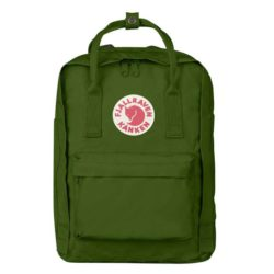 Fjallraven Kanken Laptop Backpack 13inch Leaf Green
