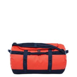 The North Face Base Camp Duffel S Poinciana Orange - Urban Navy 1