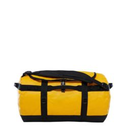 The North Face Base Camp Duffel S Summit Gold - TNF Black 1