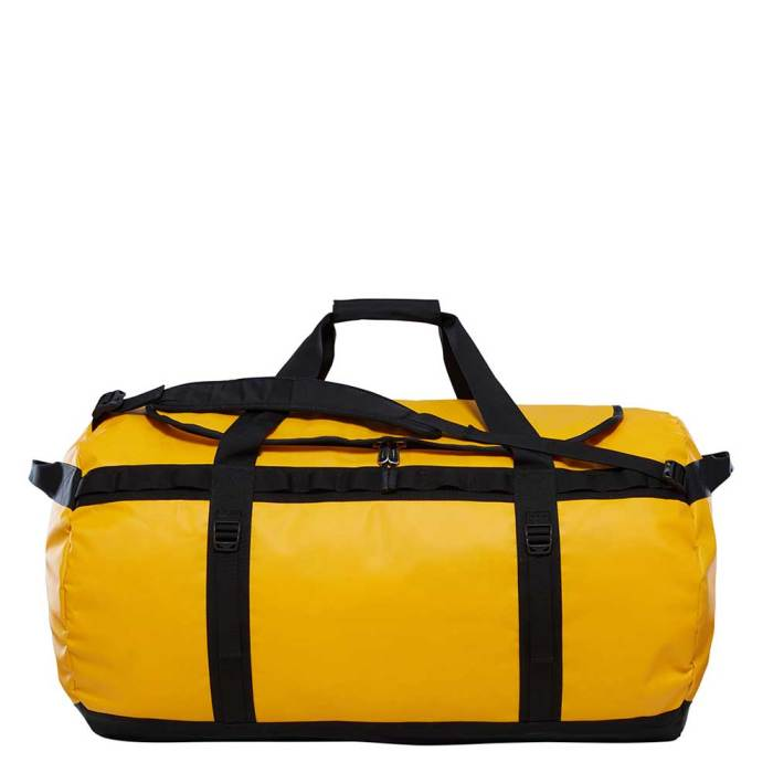 ed0b7441bbcf The North Face Base Camp Duffel XL Summit Gold - TNF Black 1