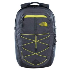 The North Face Borealis Backpack Asphalt Grey - White Heater 1