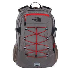 The North Face Borealis Classic Backpack Falcon Brown - Centennial Red 1