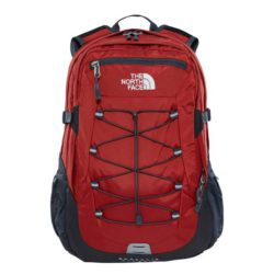The North Face Borealis Classic Backpack Ketchup Red - Asphalt Grey 1