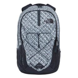 The North Face Jester Backpack Lunar Ice Grey Chainlink Print 1